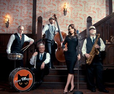 The Cosmo Alleycats -A Dance Band with a Vintage Twist!