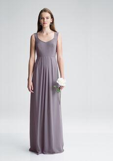 #LEVKOFF 7005 V-Neck Bridesmaid Dress
