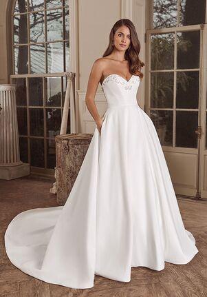 Justin Alexander Ainsley Ball Gown Wedding Dress