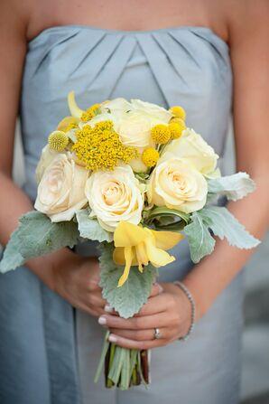 Bright Romantic Bridesmaid Bouquet