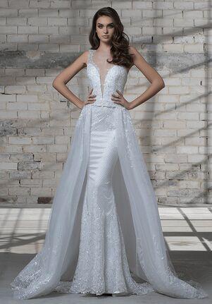 LOVE by Pnina Tornai for Kleinfeld 14683AXS Sheath Wedding Dress