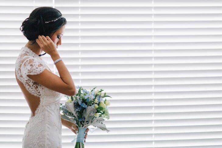 Romantic Glam Bridal Attire