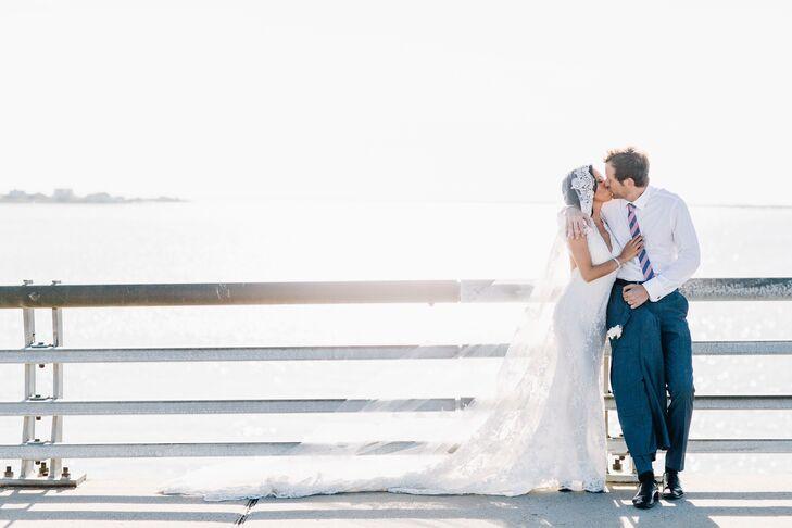 Romantic Beach Couple's Shot