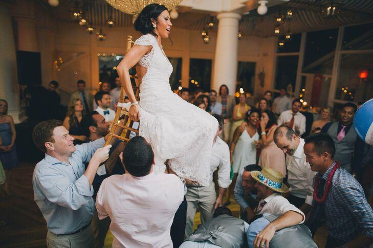 Wedding Reception Hora Dance