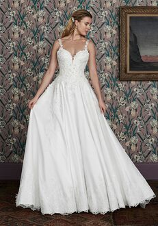 Justin Alexander Signature Peggy Ball Gown Wedding Dress