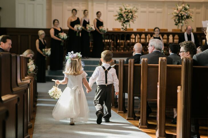 5bd479b02b5 With a formal black and charcoal wedding party