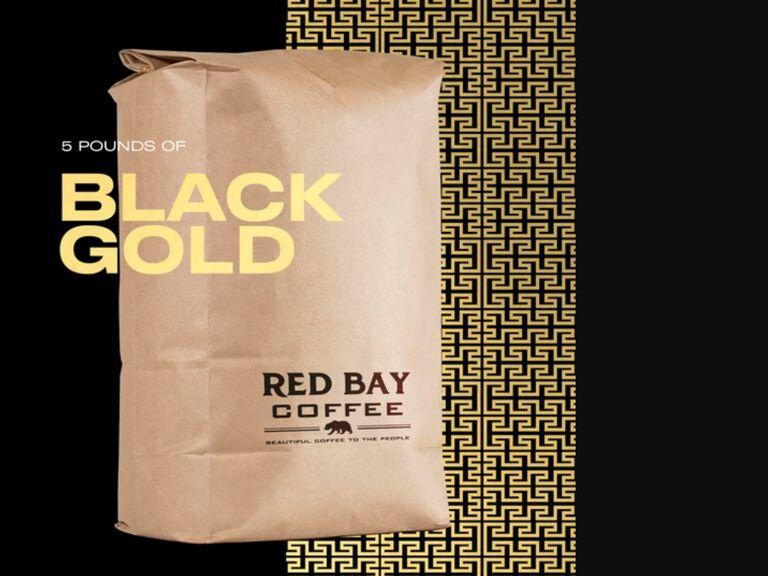 Long-distance dad gift coffee bag