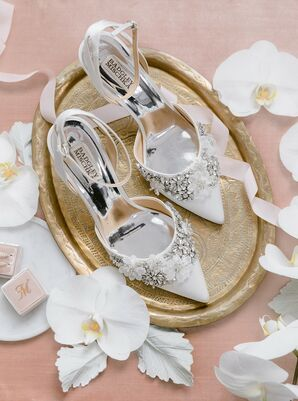 Bridal Heels with Embellishments
