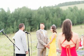 An Outdoor Ceremony at the Flying Horse Ranch