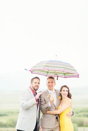 Shauna and Jason Raining Ceremony
