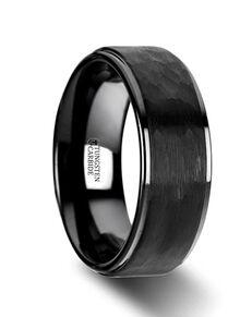 Mens Tungsten Wedding Bands W4437-RHBT Tungsten Wedding Ring