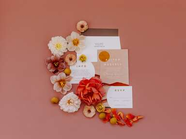Traditional Wedding Stationery Rules to Break