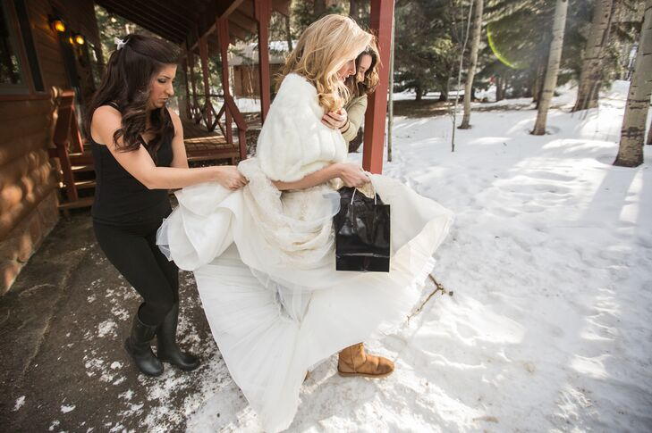 Shelby's Winter Wedding in Lyons, Colorado