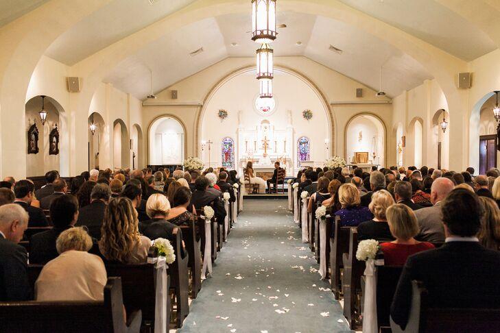 St. Elizabeth's Church Wedding Ceremony