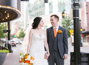 Mimsy Win (37 and an event planner) and Jeff Tallent (34 and in banking) met online, but they believe fate played a role in bringing them together. Bo