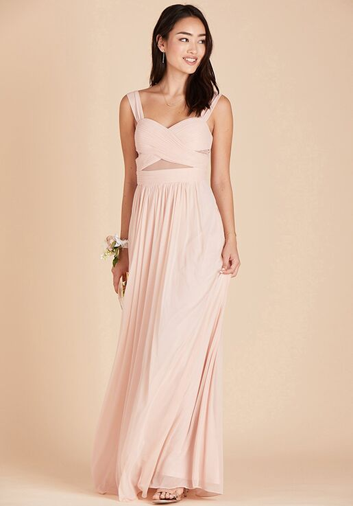 Birdy Grey Elsye Dress in Pale Blush Sweetheart Bridesmaid Dress