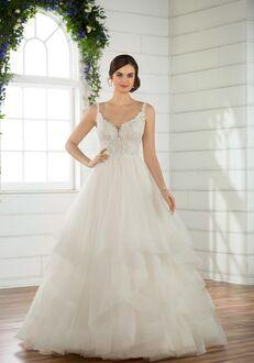 Essense of Australia D2491 Ball Gown Wedding Dress