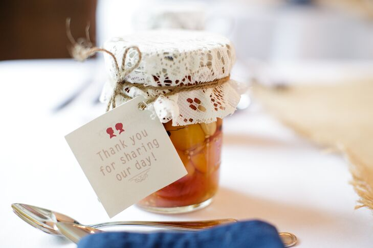 Diy Mason Jar Jam Wedding Favor