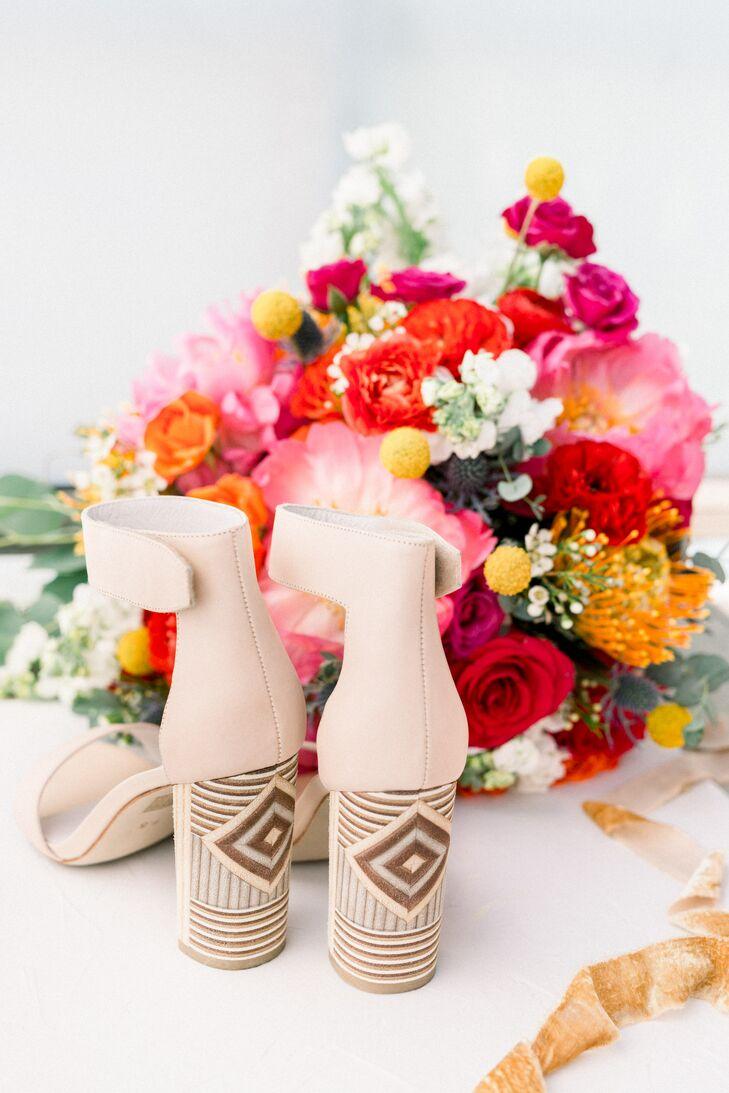 Bohemian Shoes with Aztec Design