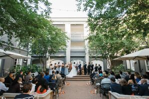 Wedding Ceremony at the Kimpton Brice Hotel in Savannah, Georgia