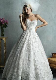 Allure Couture C328 Ball Gown Wedding Dress