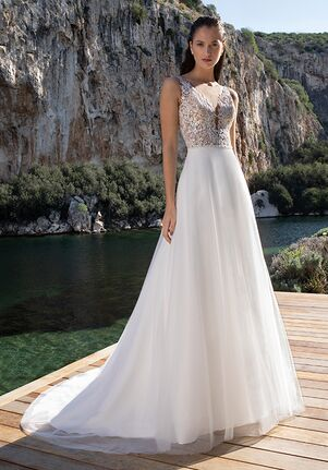 Demetrios DR293 A-Line Wedding Dress