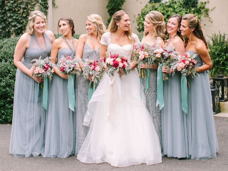 81658a390c9 What Color Bridesmaid Dresses Should You Have  See 25 Dress Colors