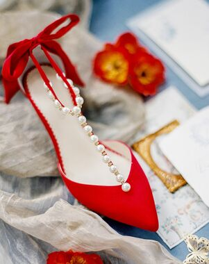 Bella Belle LISA RED Red Shoe