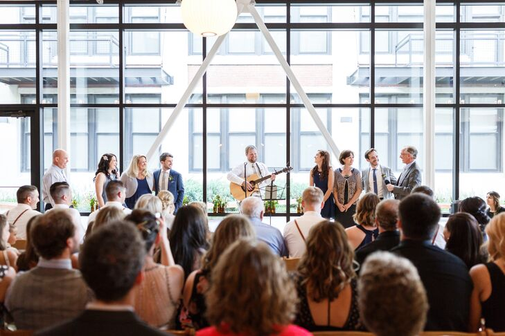 Same-Sex Ceremony at the Greenhouse Loft in Chicago