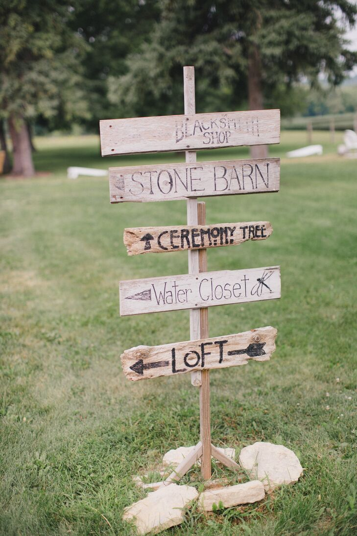 Hand-painted Wood Signs