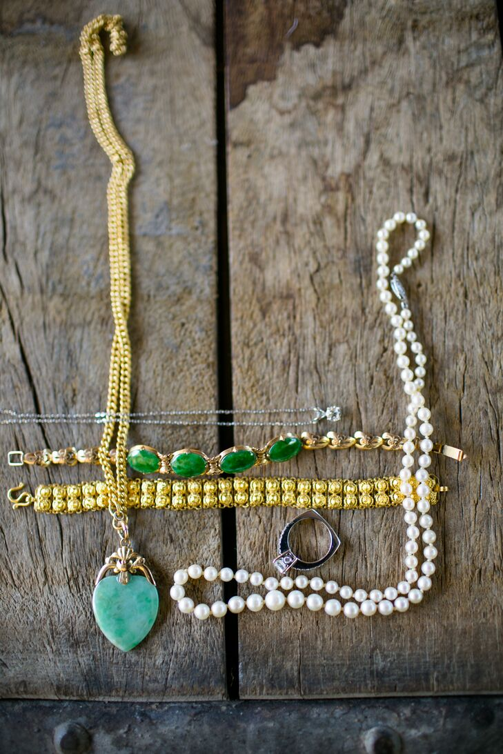 Assortment of Wedding Jewelry