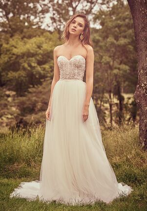 Lillian West 66074 A-Line Wedding Dress