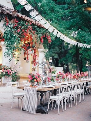 Romantic Spanish-Style Outdoor Reception