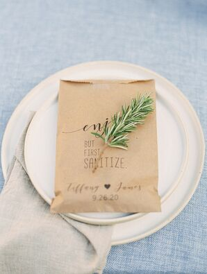 Guest Favors for Backyard Minimony in California