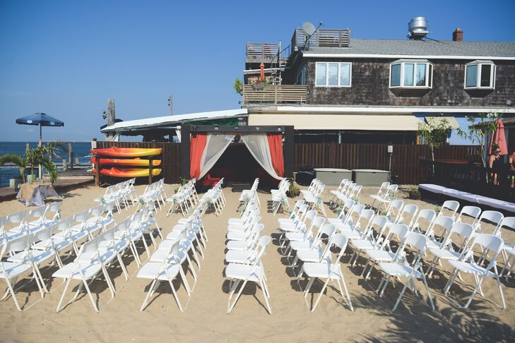Palms Hotel Fire Island Beach Wedding Ceremony