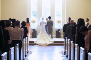 Classic Chapel Ceremony in Carrollton, Texas