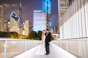 Modern Downtown Chicago Wedding