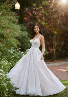 Essense of Australia D3152 A-Line Wedding Dress