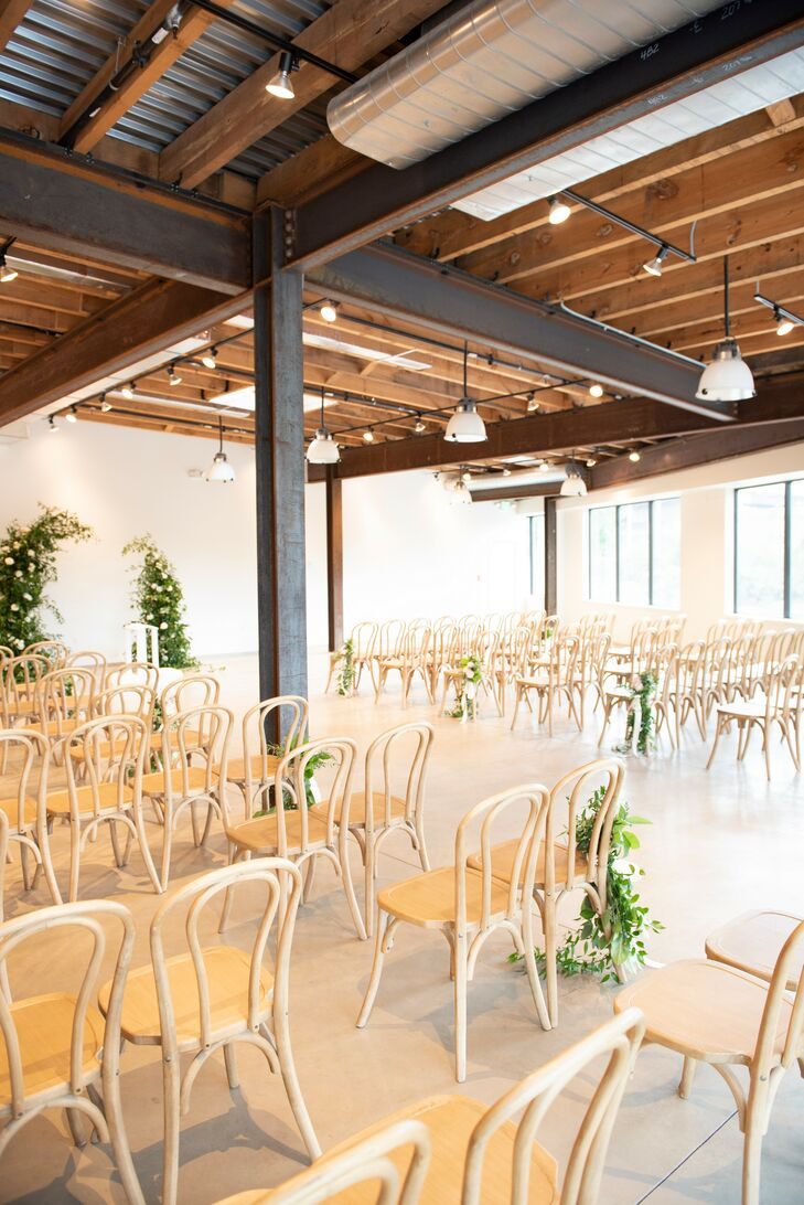 Wedding  Ceremony at The Winslow in Baltimore, Maryland