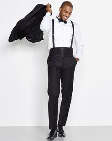 The Black Tux The Wallace Outfit Black Tuxedo