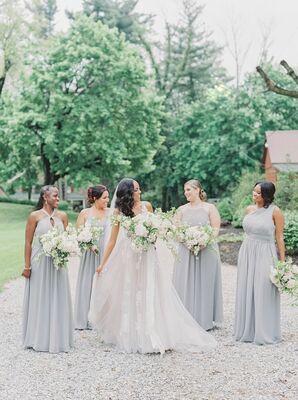 Bridal Party at Historic Shady Lane in Manchester, Pennsylvania