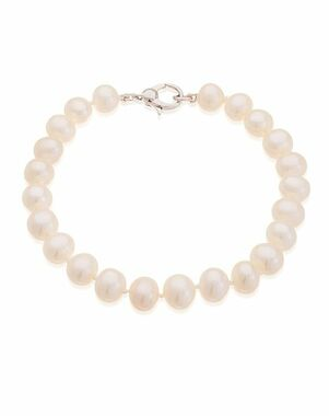 Thomas Laine Freshwater Pearl Bracelet Wedding Bracelet photo