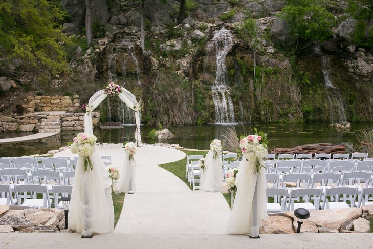 The Lodge at Bridal Veil Falls Wedding Ceremony