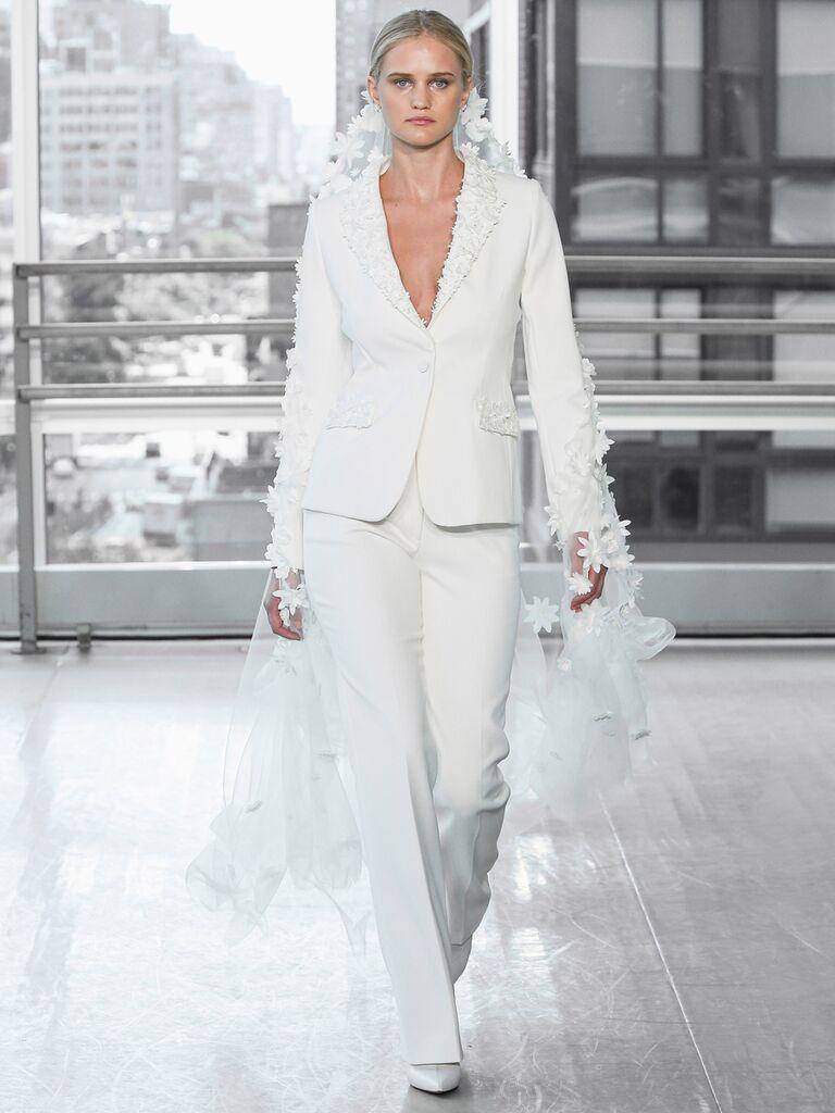 Justin Alexander Signature Wedding Dresses pantsuit