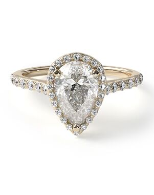 James Allen Classic Pear Cut Engagement Ring