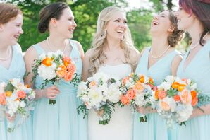 Pale Blue Kennedy Blue Bridesmaid Dresses