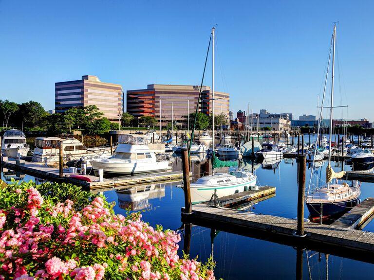 marina in Stamford, Connecticut