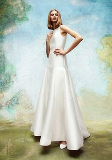 Viktor&Rolf Mariage FROSTED TWEED GODET GOWN A-Line Wedding Dress