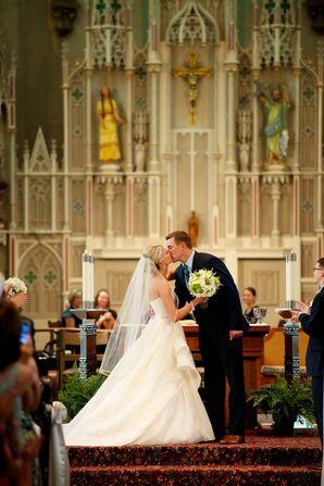 Romantic Church Ceremony