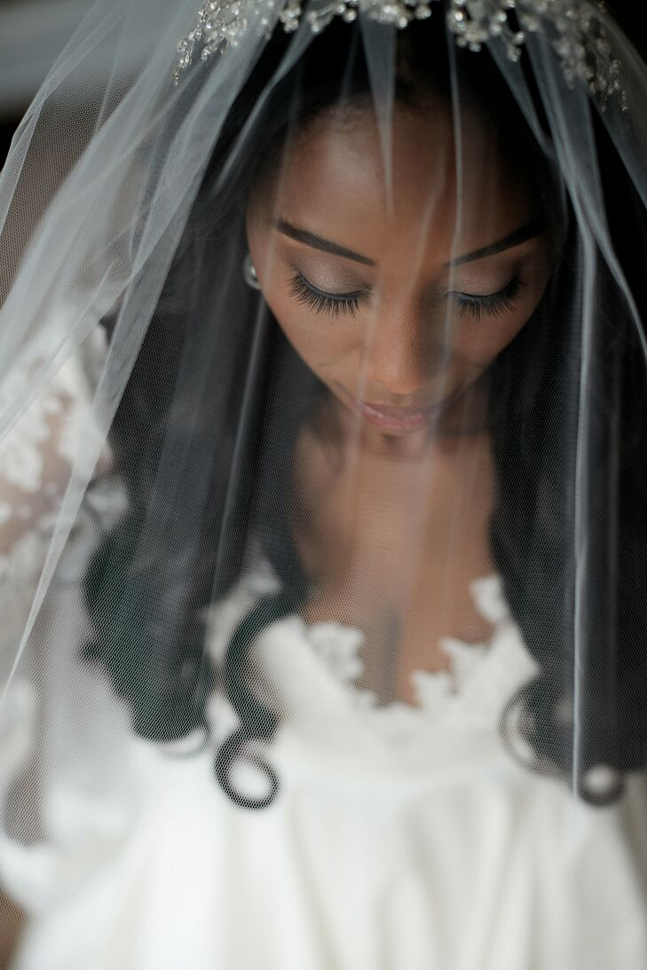 Bride Getting Ready for Wedding at Leonard's Palazzo in Great Neck, New York